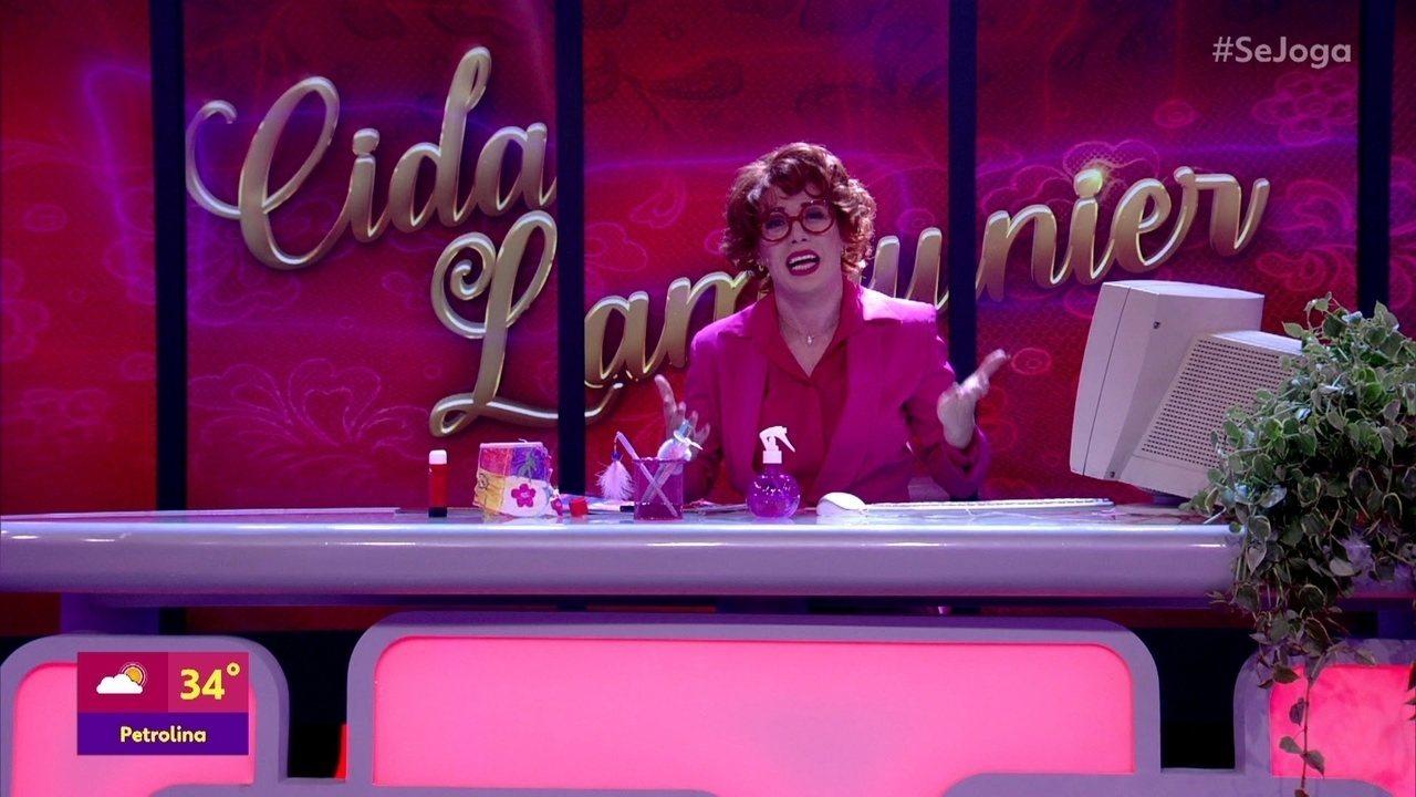 Cida Lamounier estreia no 'Se Joga'
