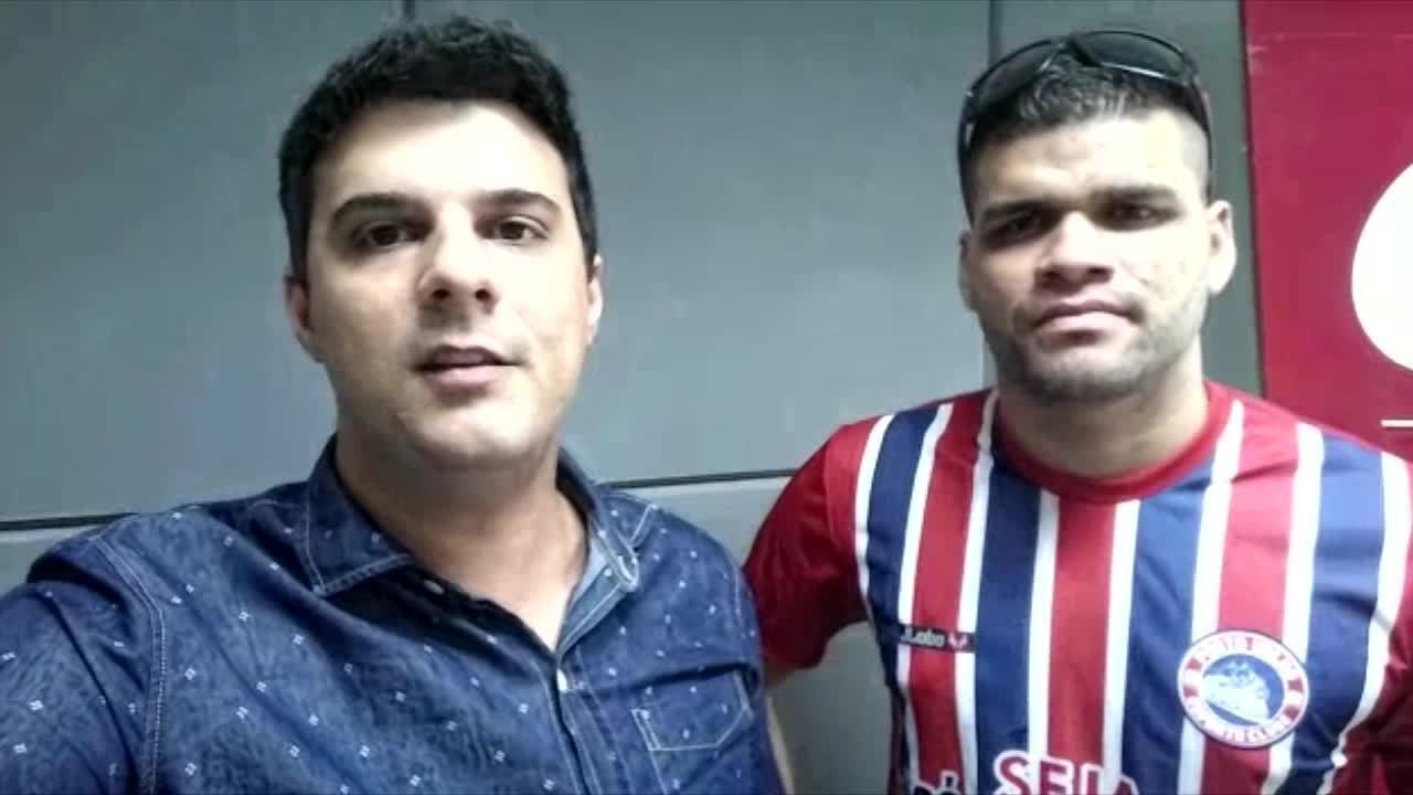 O comentarista esportivo Juan Rodrigues entrevistou o técnico do Porto Velho sub-13
