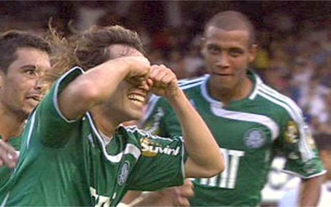 Palmeiras vence o Corinthians no Paulistão de 2008