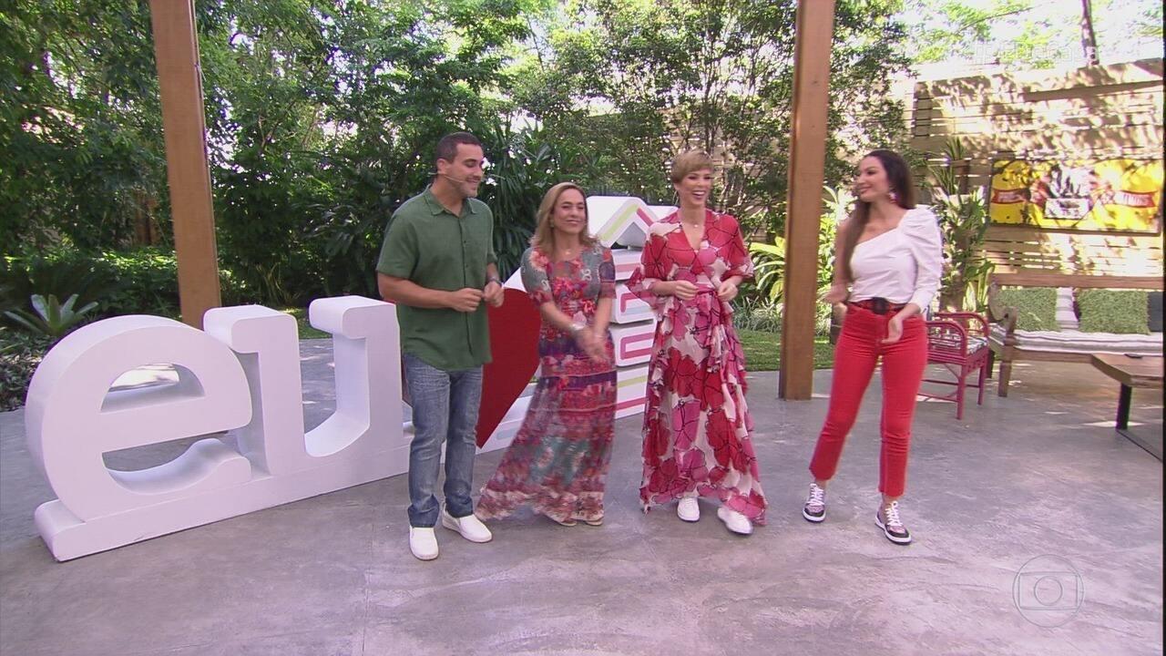 Programa de 05/10/2019 - Ana Furtado, André Marques, Cissa Guimarães e Patrícia Poeta comandam o programa que dá dicas de culinária, saúde e muito mais!