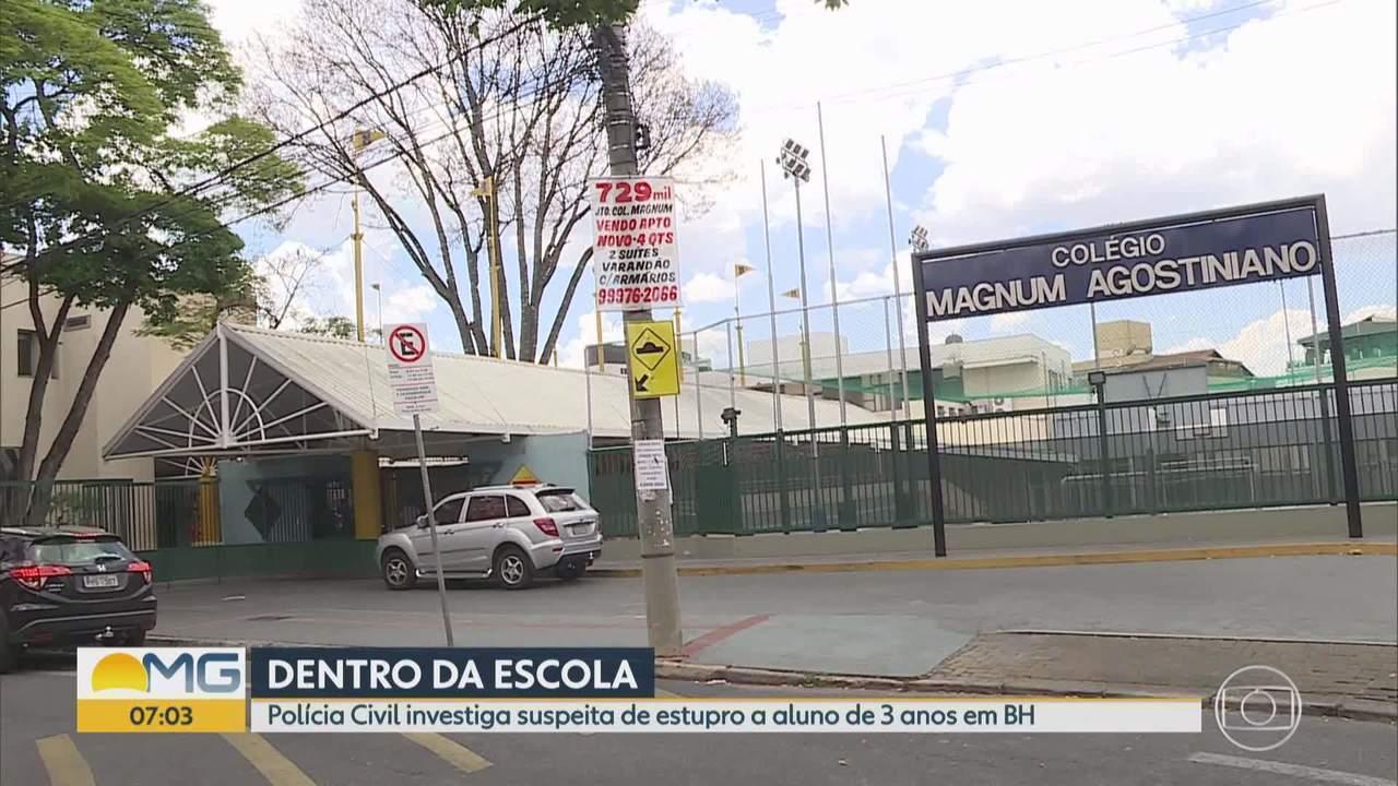 Ajudante de professor é suspeito de estuprar menino de 3 anos dentro de escola em BH