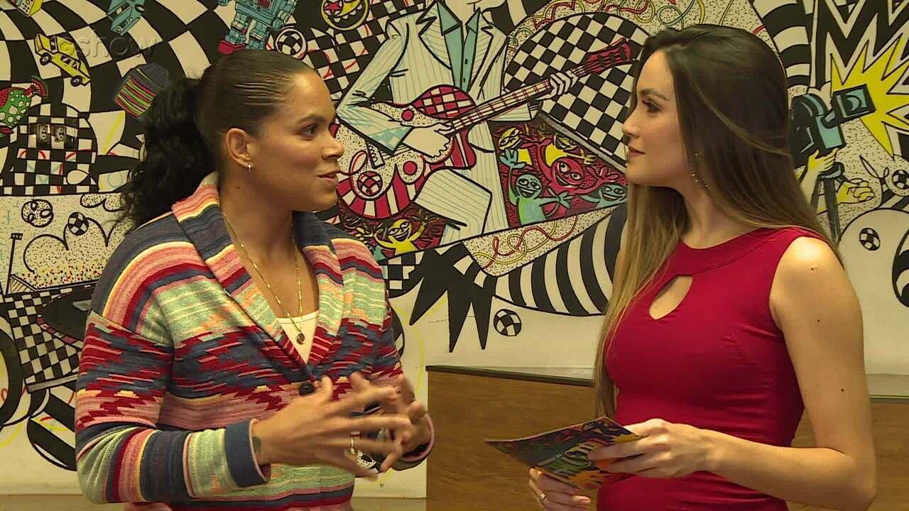 Amanda Nunes fala sobre vida e carreira no UFC e topa desafio de dança do Gshow