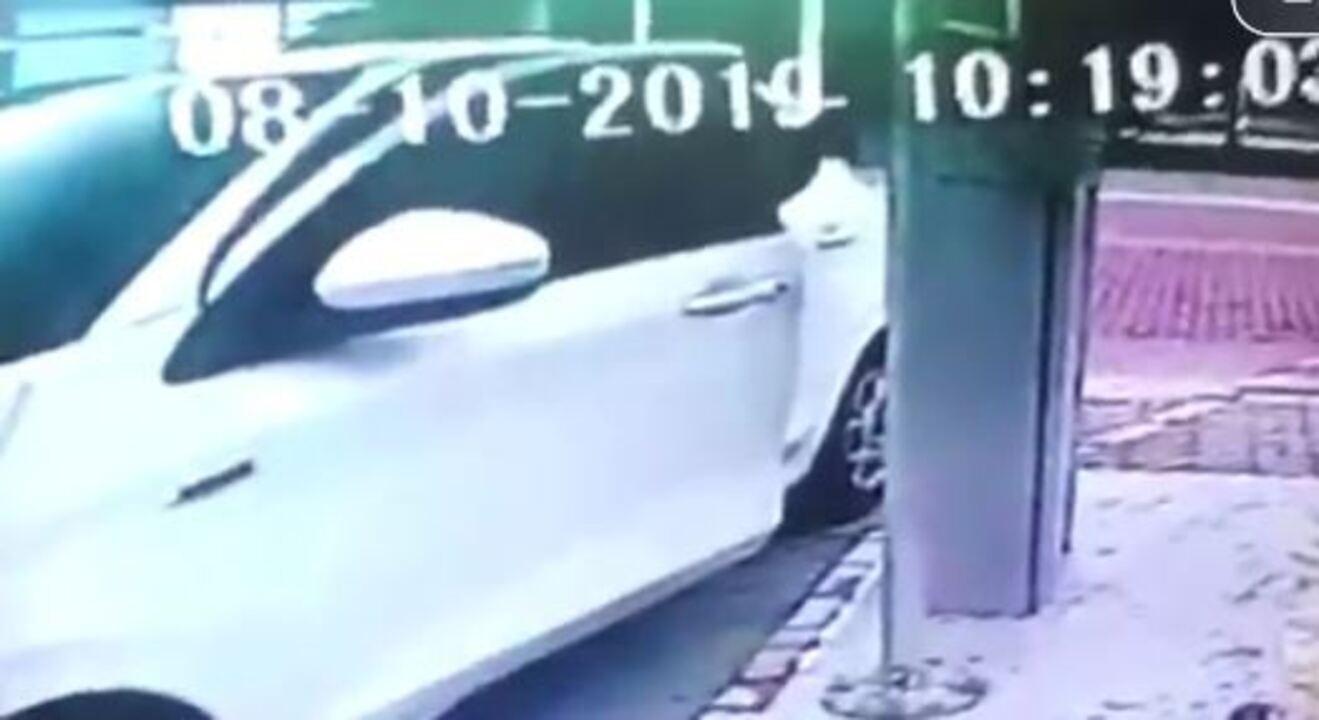 Vídeo mostra momento em que filha de Maninho é baleada na Barra da Tijuca