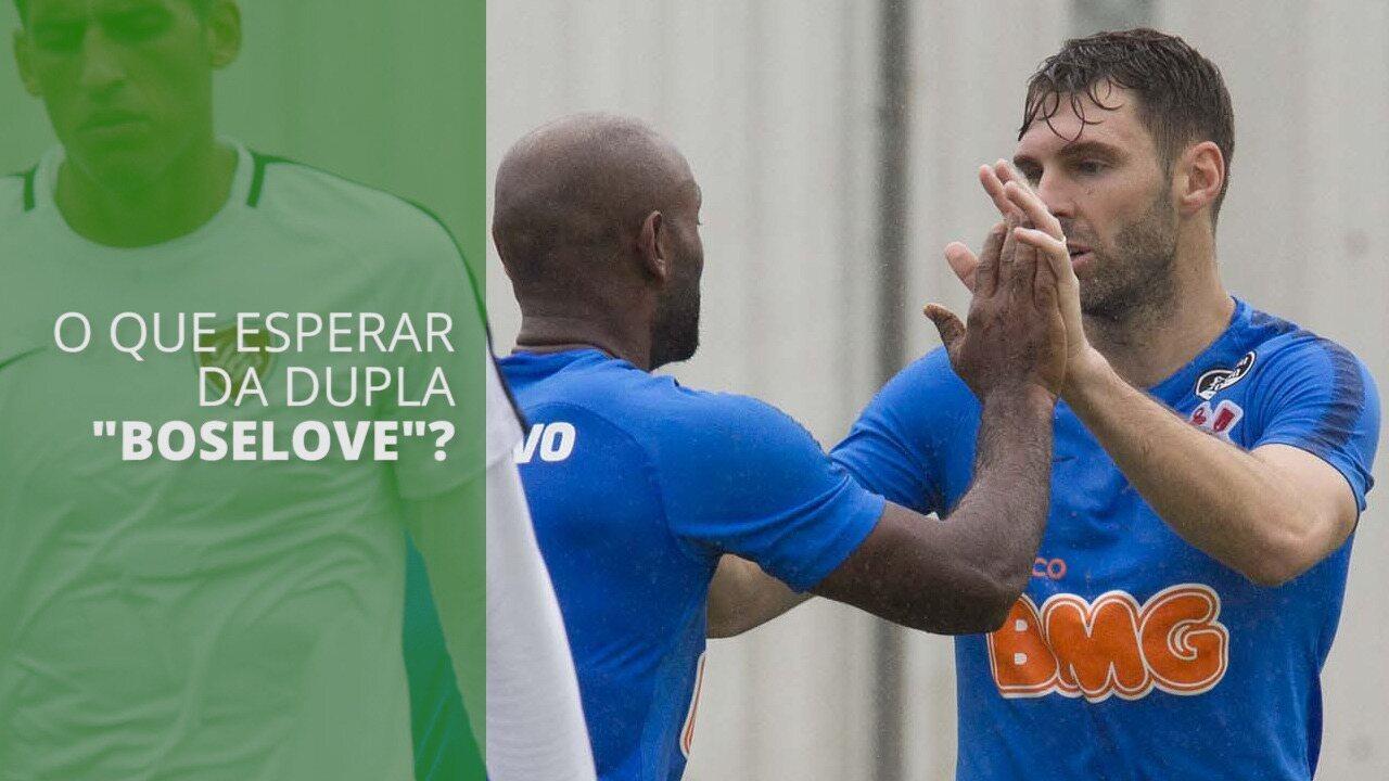 "O que esperar da dupla ""Boselove""? Veja os números dos atacantes do Corinthians"