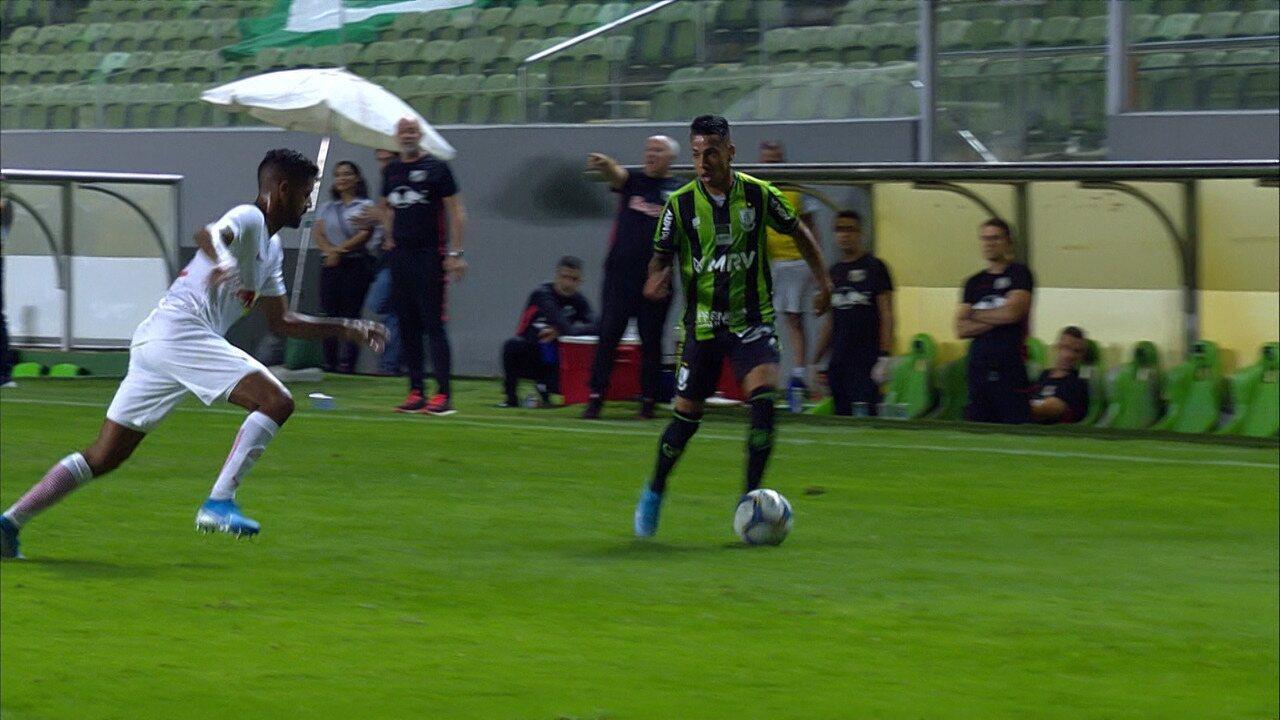 Melhores momentos de América-MG 2 x 0 Bragantino pela 27ª rodada da Série B 2019