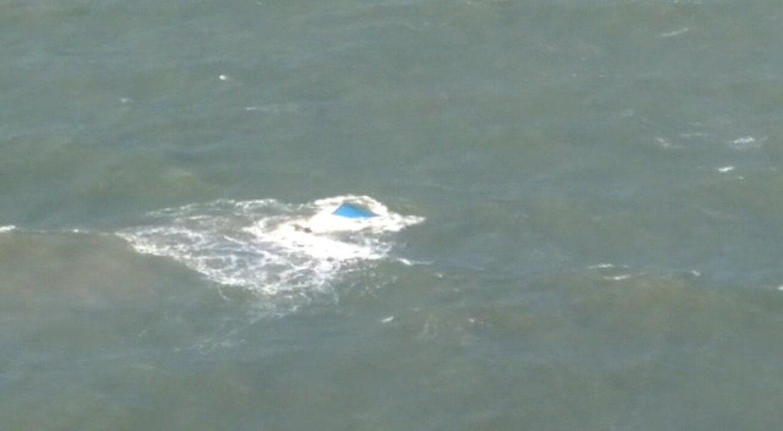 CTA localiza embarcação que naufragou no Rio Preguiças