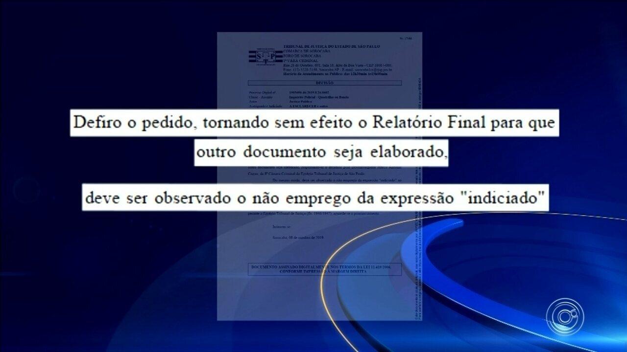Juiz suspende temporariamente relatório final da Operação Casa de Papel