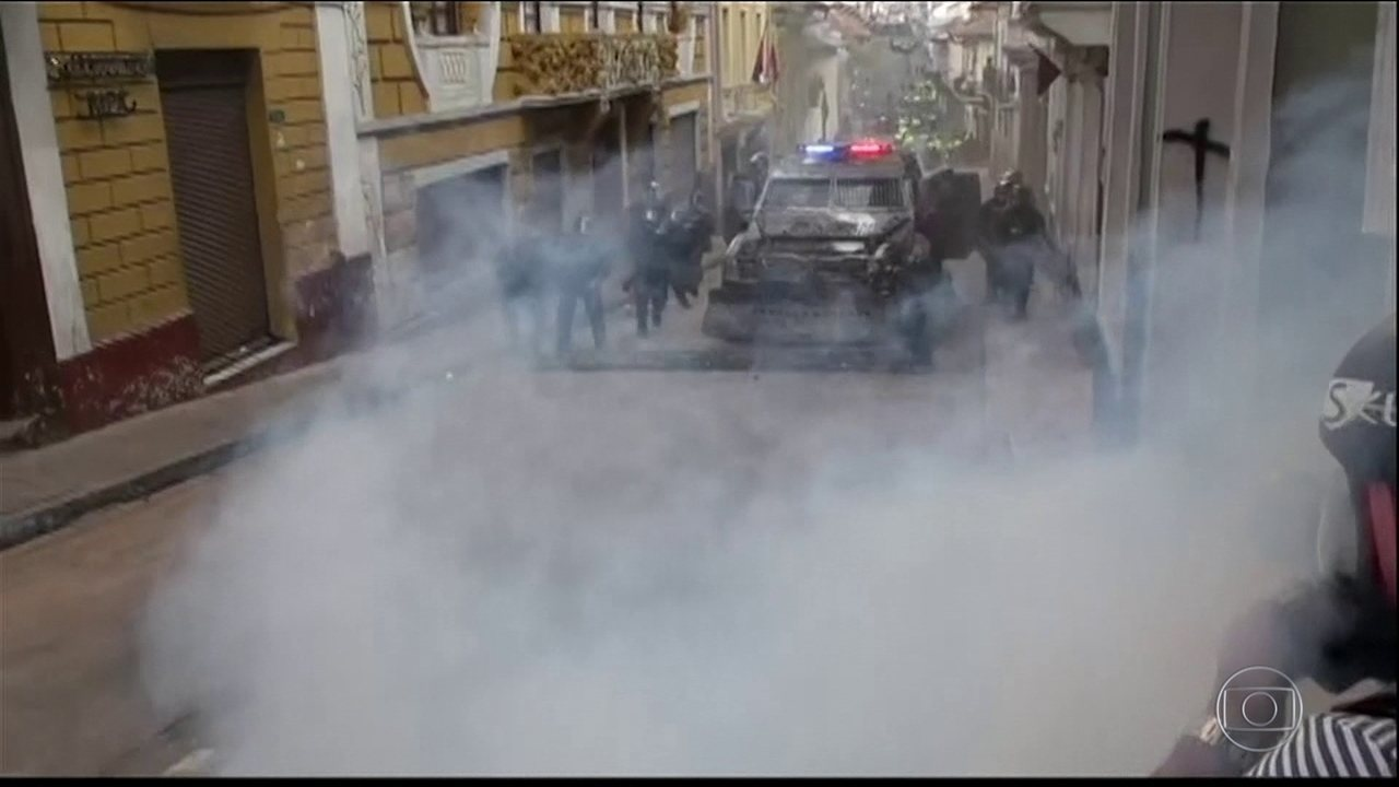 Greve geral paralisa o Equador no sétimo dia de protestos