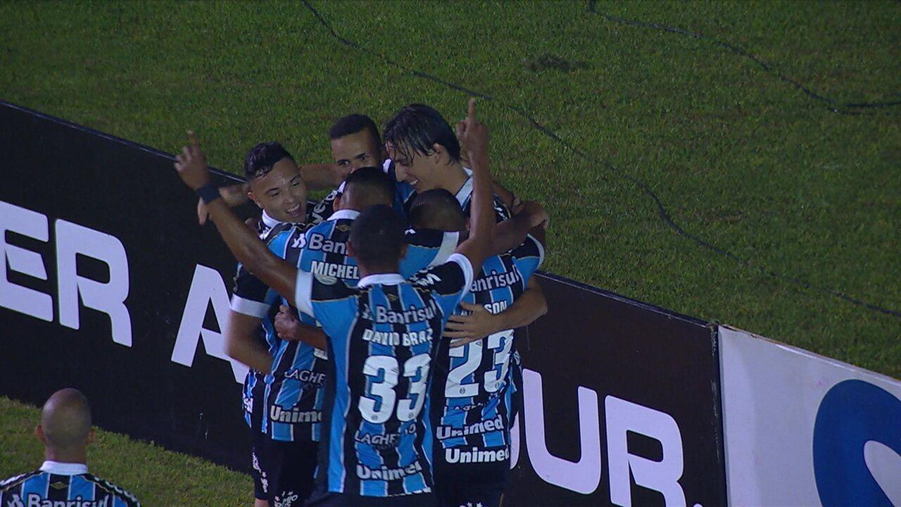 Os gols de Grêmio 2 x 1 Ceará pela 24ª rodada do Campeonato Brasileiro