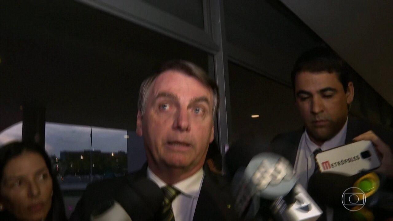 Presidente Jair Bolsonaro diz que, por enquanto, fica no PSL