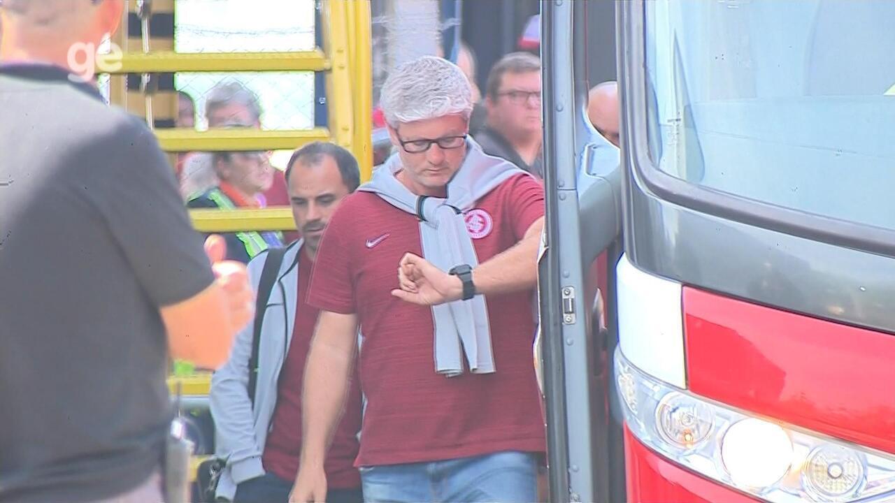 Sob pressão, Inter retorna a Porto Alegre após derrota para o CSA