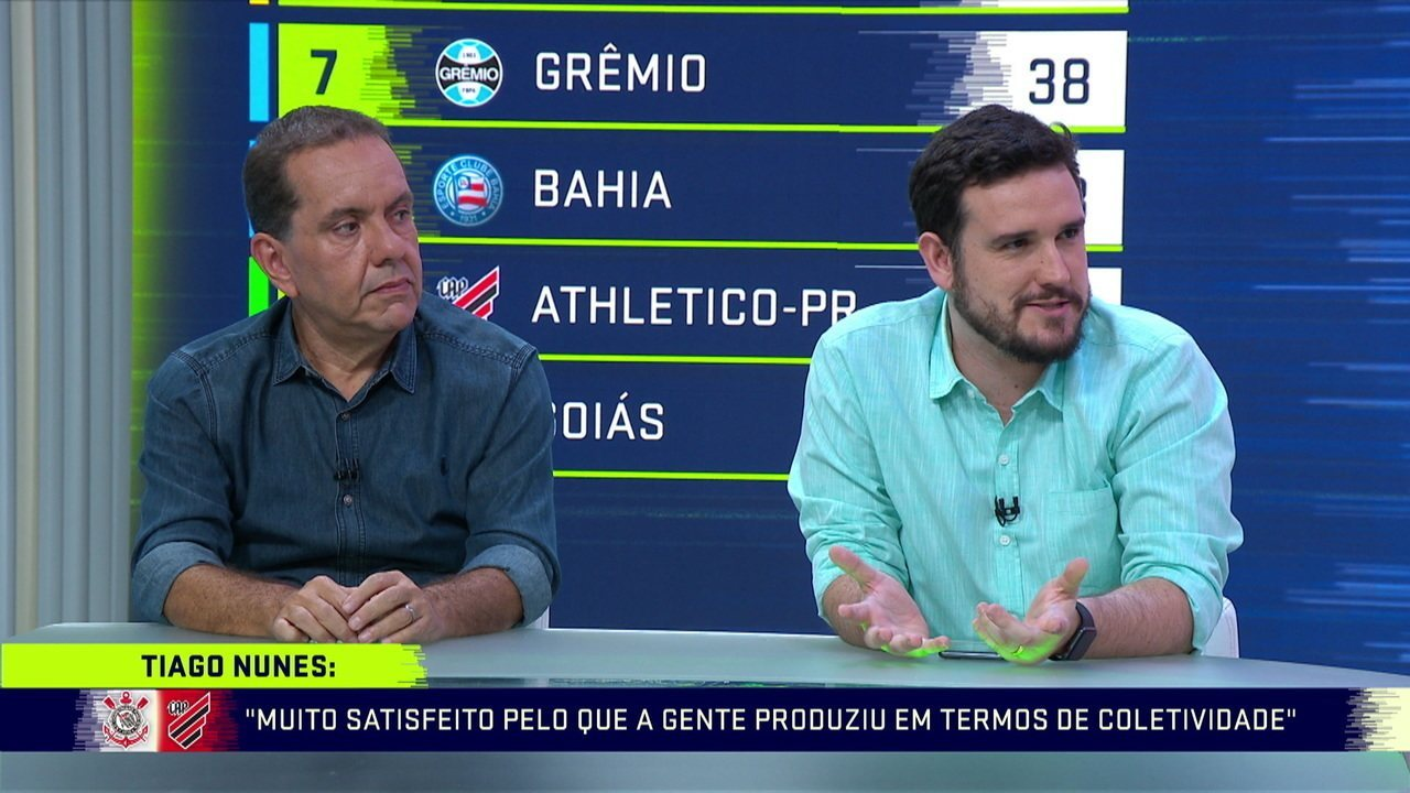 Para Raphael Rezende, Tiago Nunes não deveria nem pensar em deixar o Athletico-PR