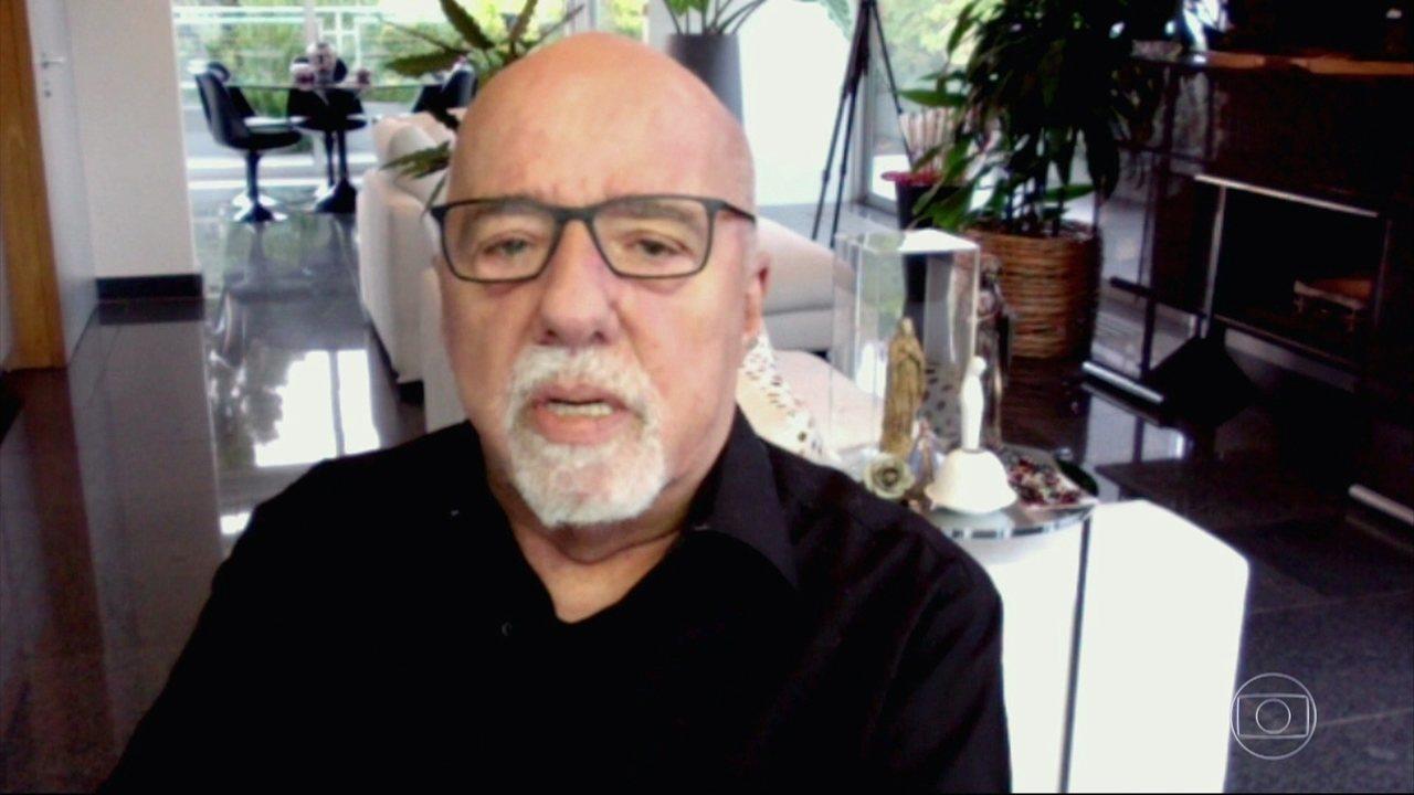 Paulo Coelho conta como foi ajudado por Irmã Dulce