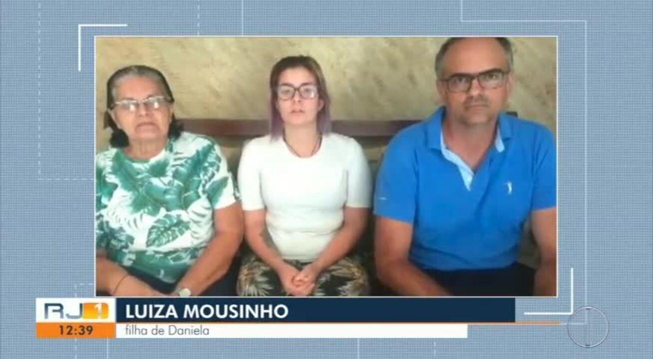 Familiares falam sobre morte de mulher queimada em Nova Friburgo, no RJ