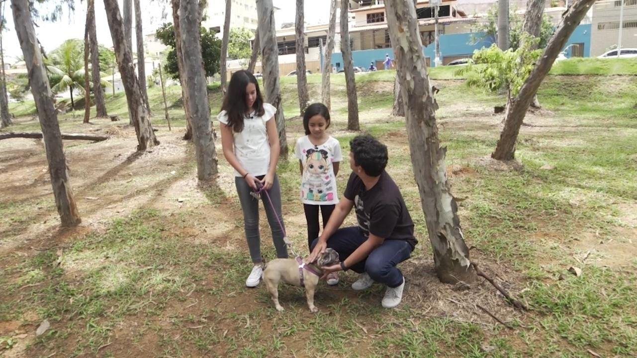 Yasmin e Mariah conversam com Timbó sobre Valentina