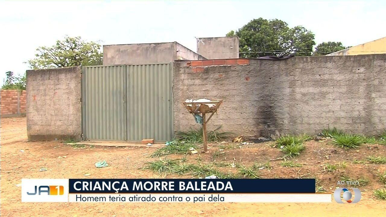 Criança de 7 anos morre baleada em Aparecida de Goiânia