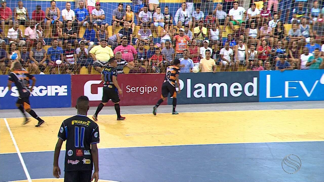 Itaporanga derrota Pinhão e garante vaga nas semifinais da Copa TV Sergipe de Futsal