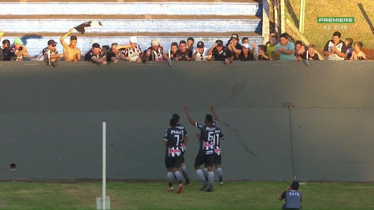 Veja os gols de Londrina 1x2 Operário-PR, pela 28ª rodada da Série B do Brasileiro