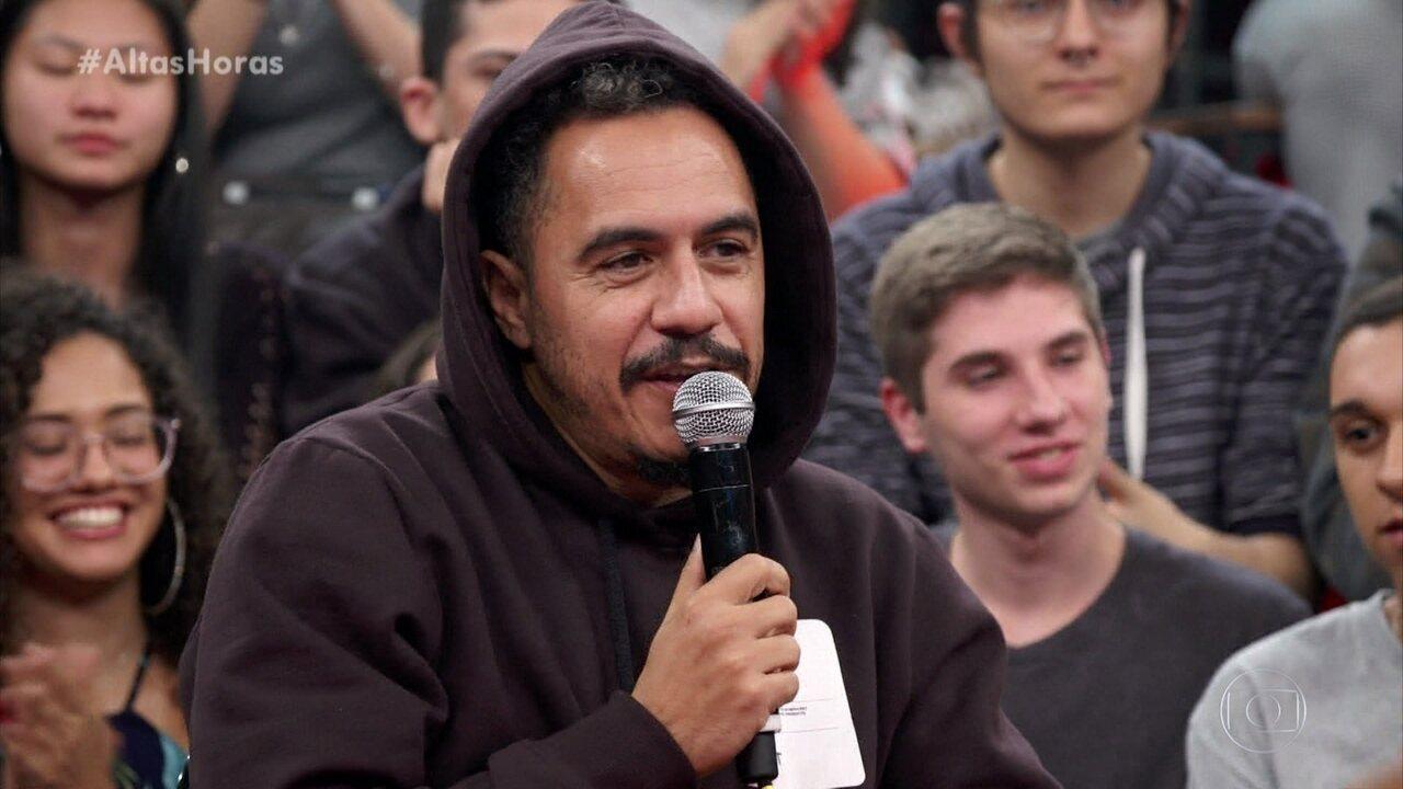 Marcelo D2 relembra a primeira vez que encontrou Zeca Pagodinho