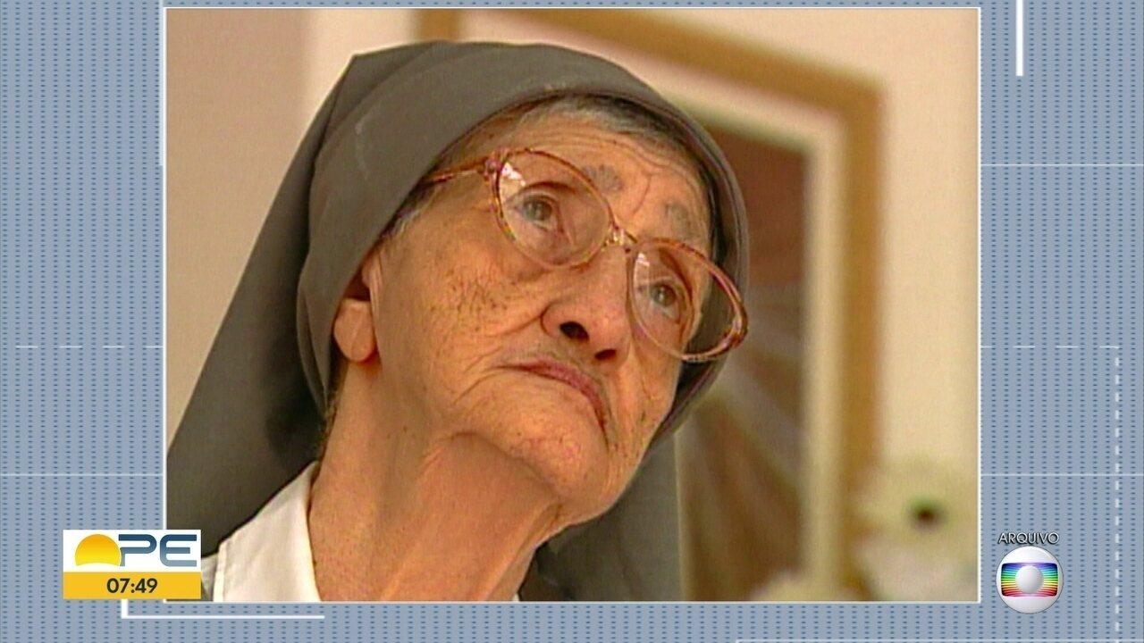 Irmã Adélia ganha memorial no Recife e pode se tornar a primeira santa nascida em Pernambu