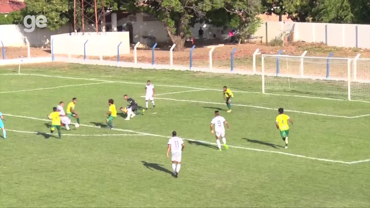 Veja o gol e os melhores momentos de Oeirense x Picos, pela semi da Série B