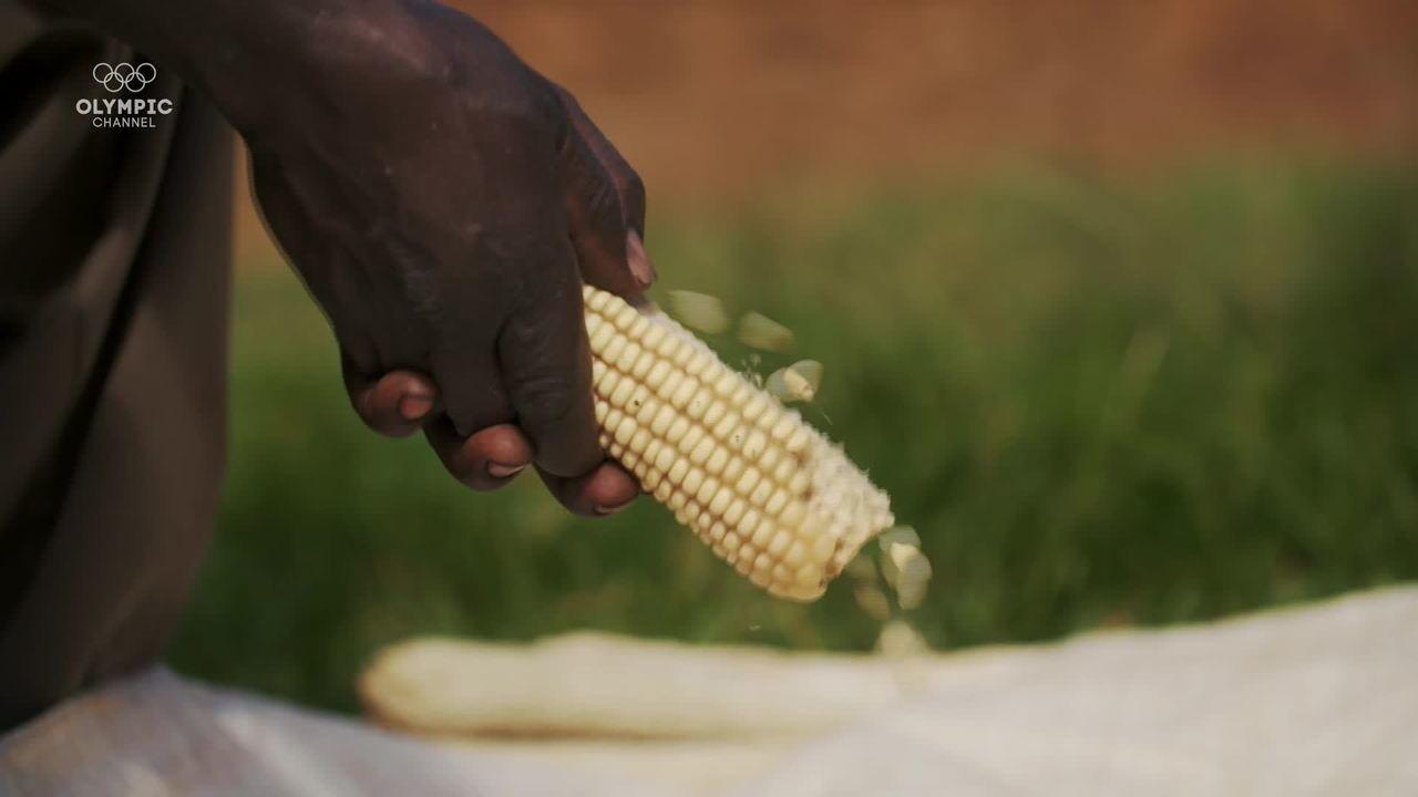 Ugali, o carboidrato que é a base da dieta dos quenianos