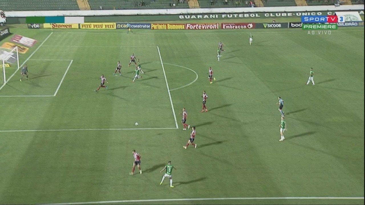 Melhores momentos: Guarani 0 x 2 Botafogo-SP pela 29ª rodada da série B do Brasileirão
