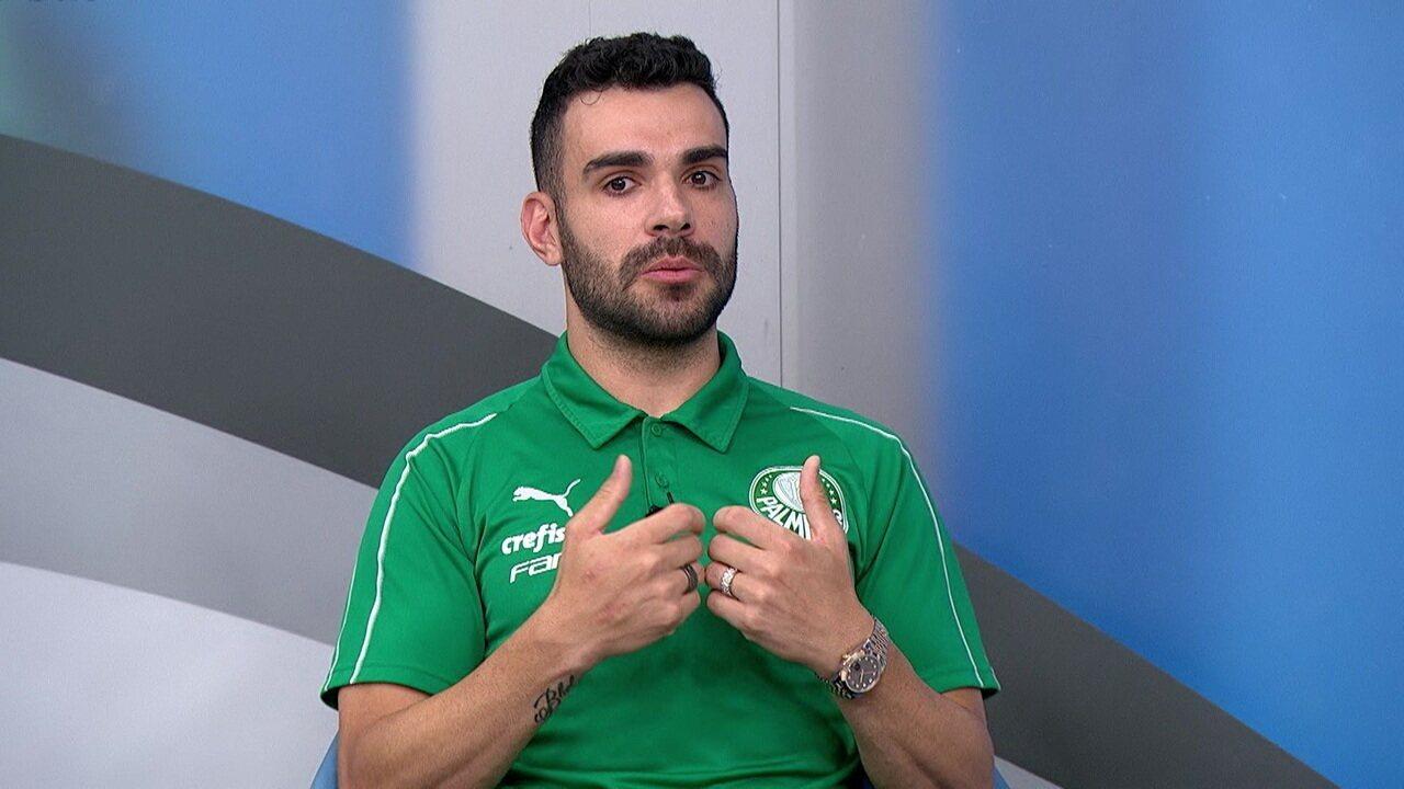 Bruno Henrique faz uma análise sobre o momento do Palmeiras