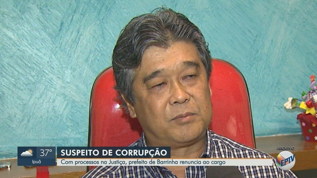 Prefeito investigado por desvio de R$ 39 mil em mudas de plantas renuncia em Barrinha, SP