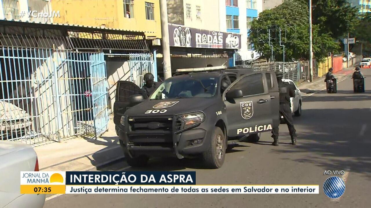 Justiça manda interditar sedes da Aspra na Bahia após operação do Ministério Público
