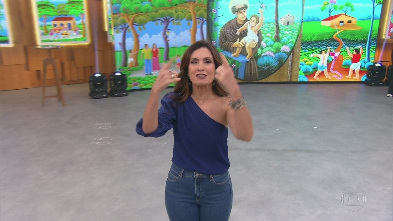 Programa de 17/10/2019 - Fátima Bernardes recebe o ator Felipe Simas e a cantora Wanessa Camargo. Dentre os assuntos desta manhã, o uso de whatsapp nas empresas