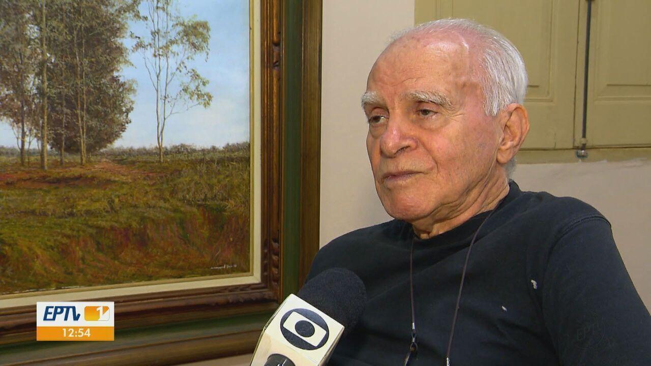 Escritor Ignácio de Loyola Brandão recebe título da Academia Brasileira de Letras
