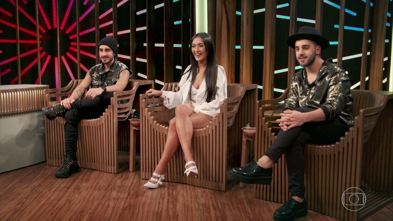 Gabriela, Diogo e Rodrigo relembram participação no SuperStar