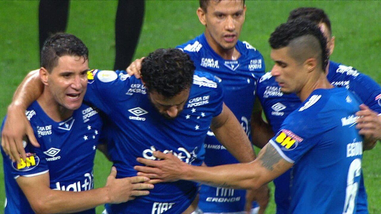 Os gols de Corinthians 1 x 2 Cruzeiro pela 27ª rodada do Brasileirão 2019
