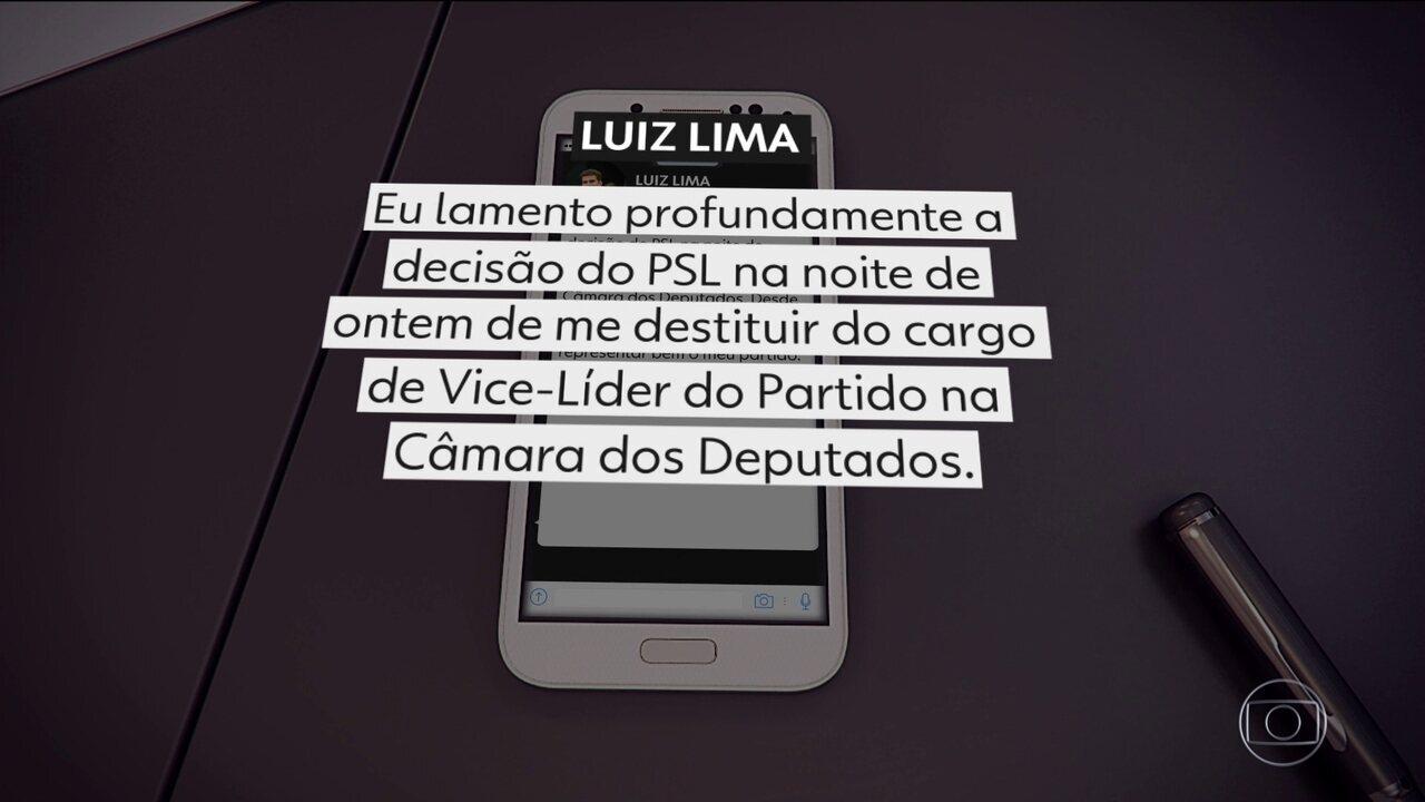Deputado que apoiou Eduardo Bolsonaro é destituído da vice-liderança do PSL