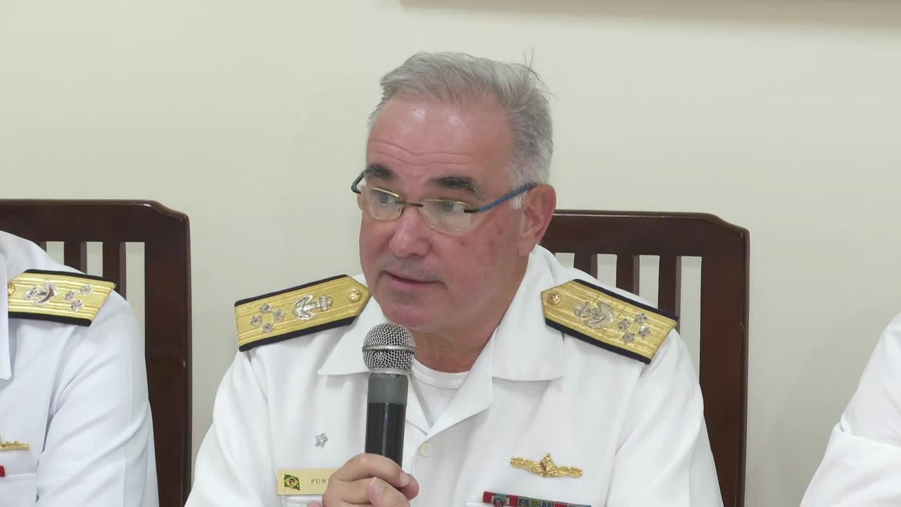 Marinha fala sobre a mancha de óleo no Nordeste