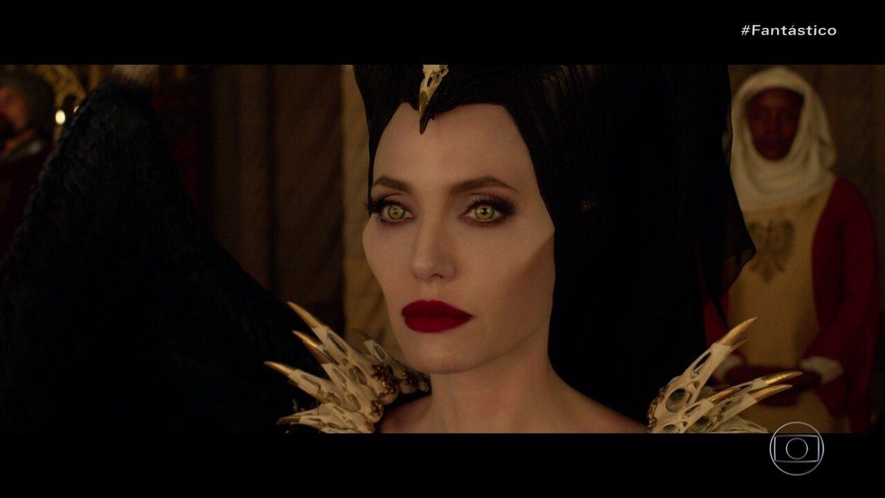 Estreando novo filme, Angelina Jolie afirma que Malévola é sua segunda personalidade