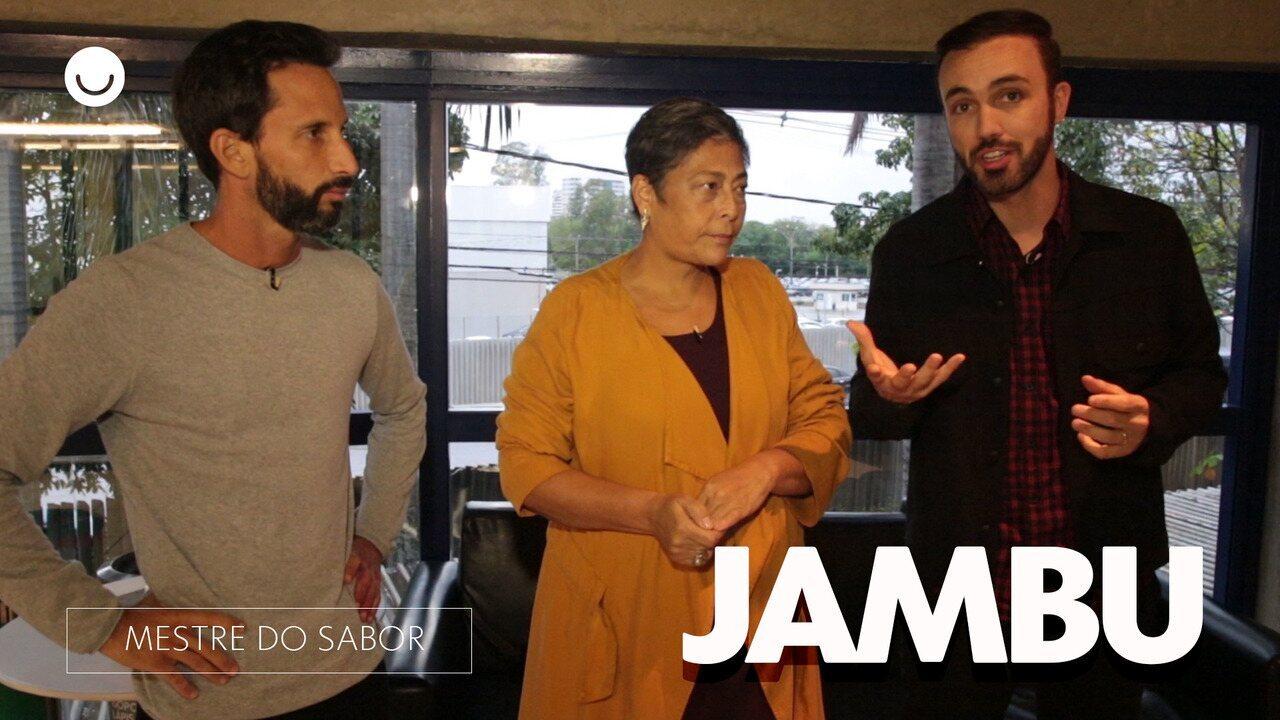 Mestres falam sobre o Jambu na prova Prato de Entrada