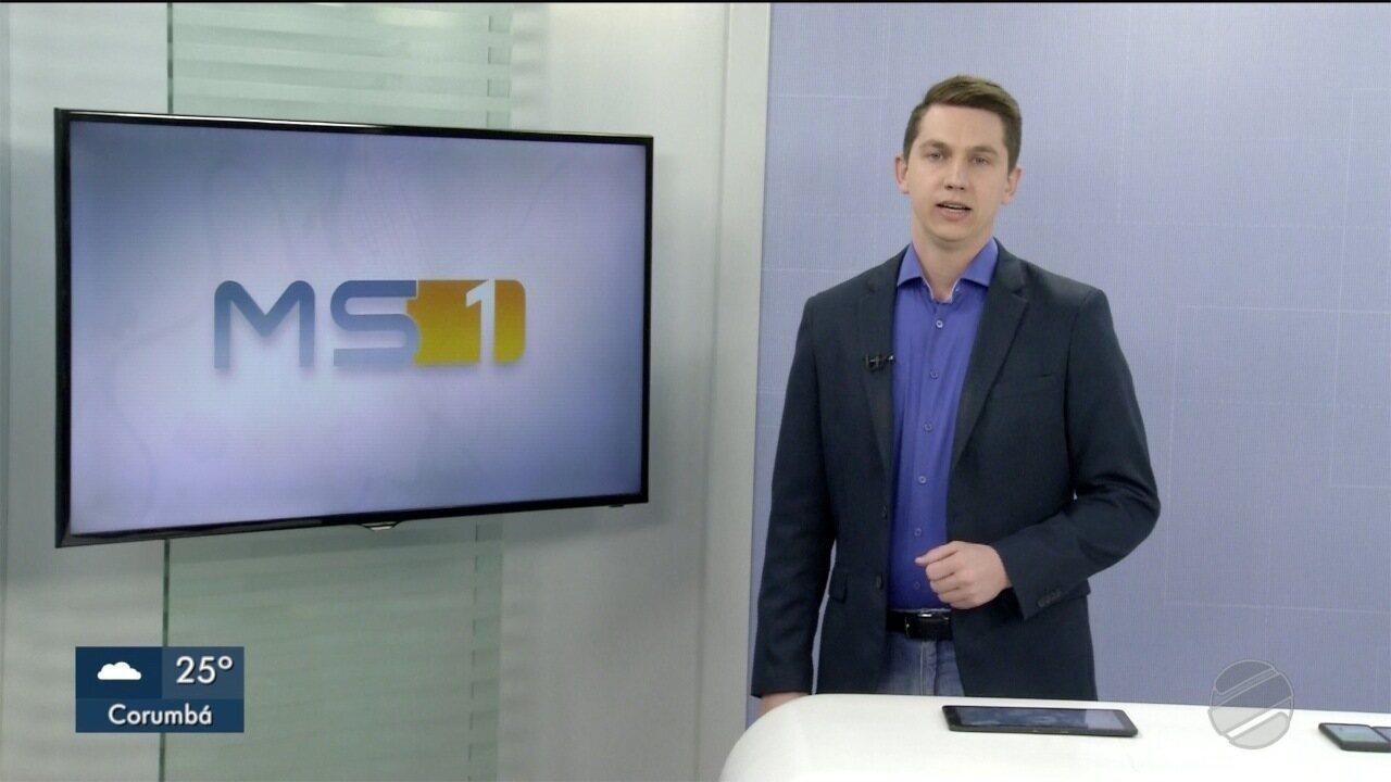 MSTV 1ª Edição Corumbá - edição de segunda-feira, 21/10/2019 - MSTV 1ª Edição Corumbá - edição de segunda-feira, 21/10/2019