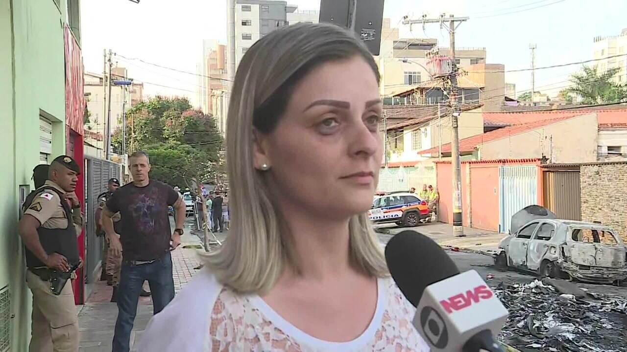 Mulher conta como escapou de acidente com avião em Belo Horizonte