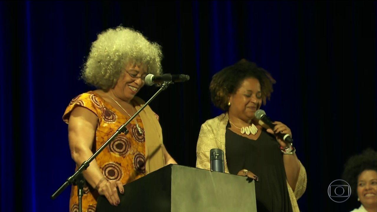Uma das ativistas negras mais importantes do mundo está em São Paulo