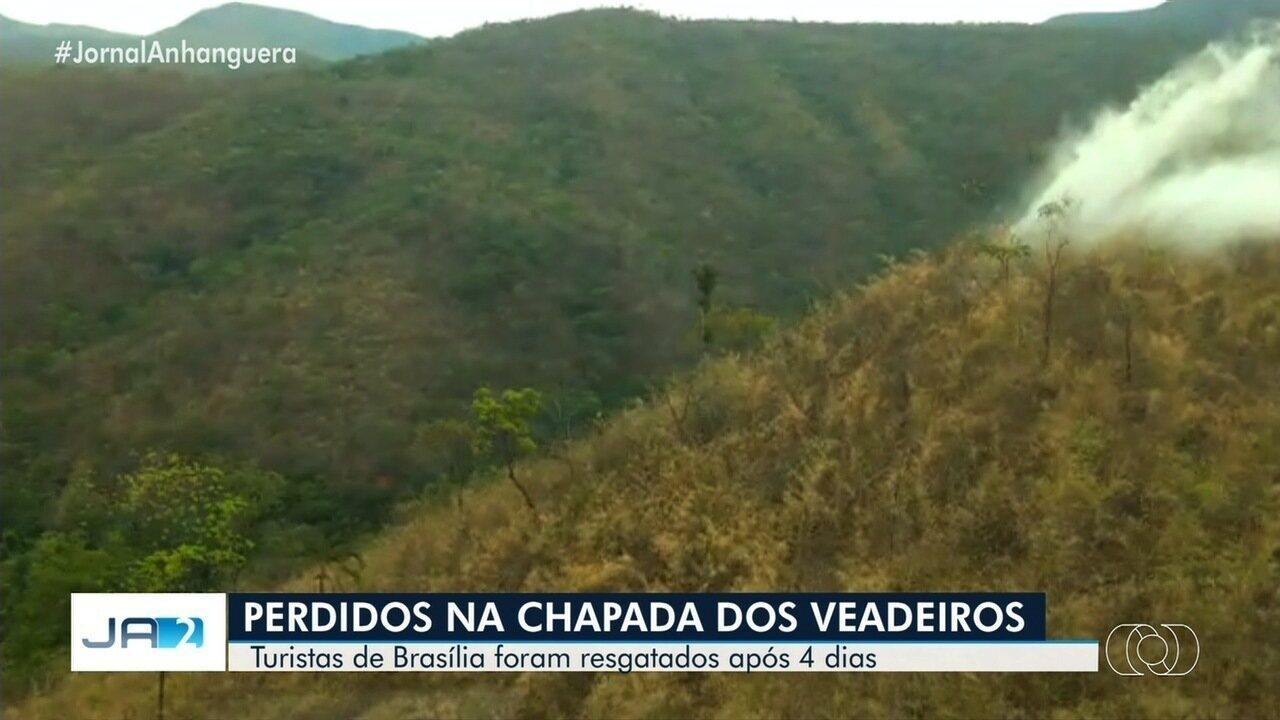 Encontrados turistas que haviam sumido na Chapada dos Veadeiros, em Goiás