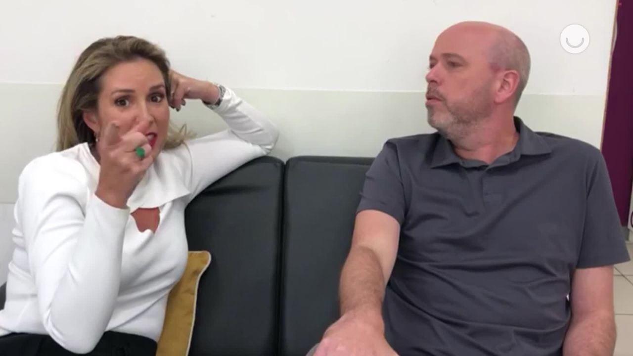 Renata Capucci e Alex Escobar mandam recado para Danilo Vieira no Popstar