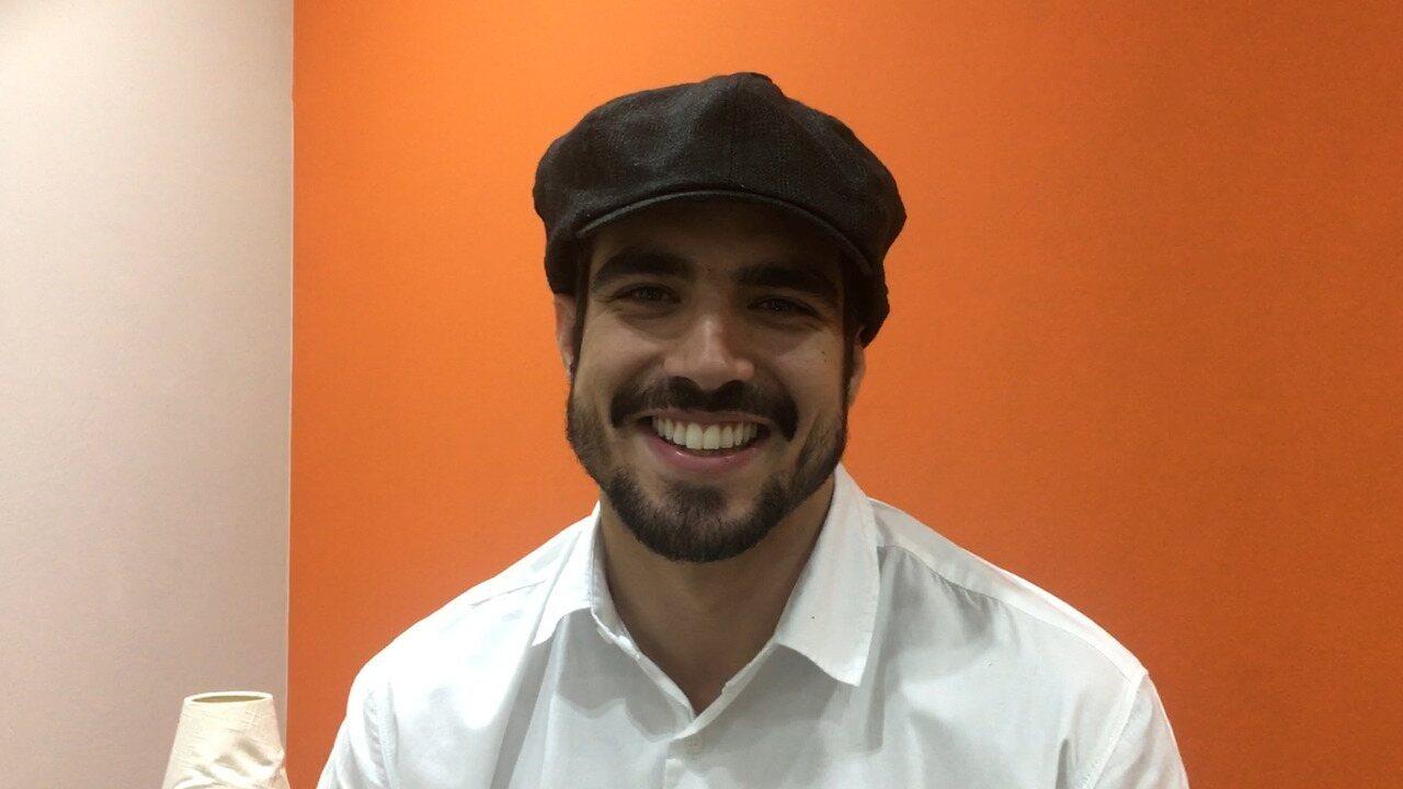 Caio Castro comenta o sucesso do seu personagem em 'A Dona do Pedaço'