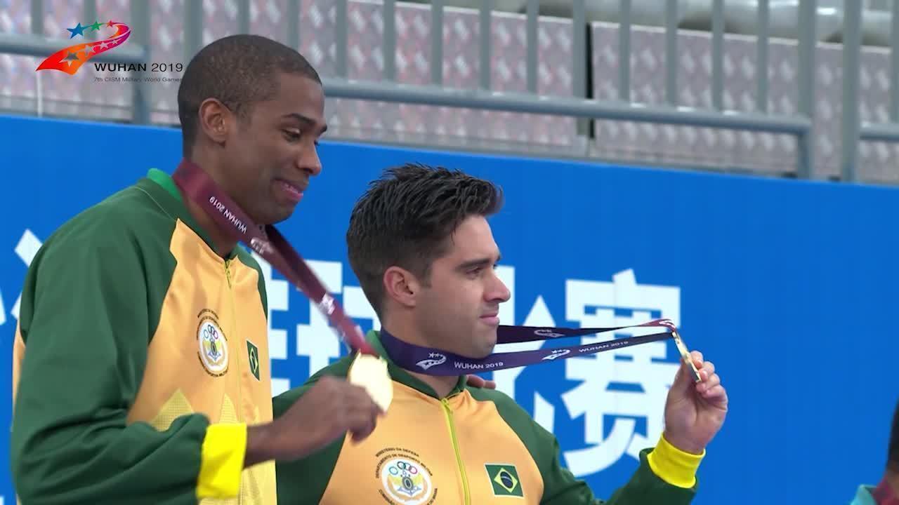 Bruno Schmidt e Evandro garantem medalha de ouro nos Jogos Mundiais Militares