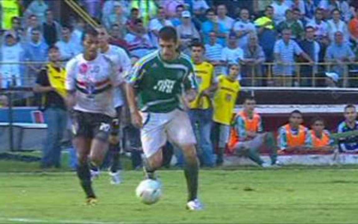 Melhores momentos: Palmeiras 4 x 1 São Paulo pela 15ª rodada do Paulistão 2008