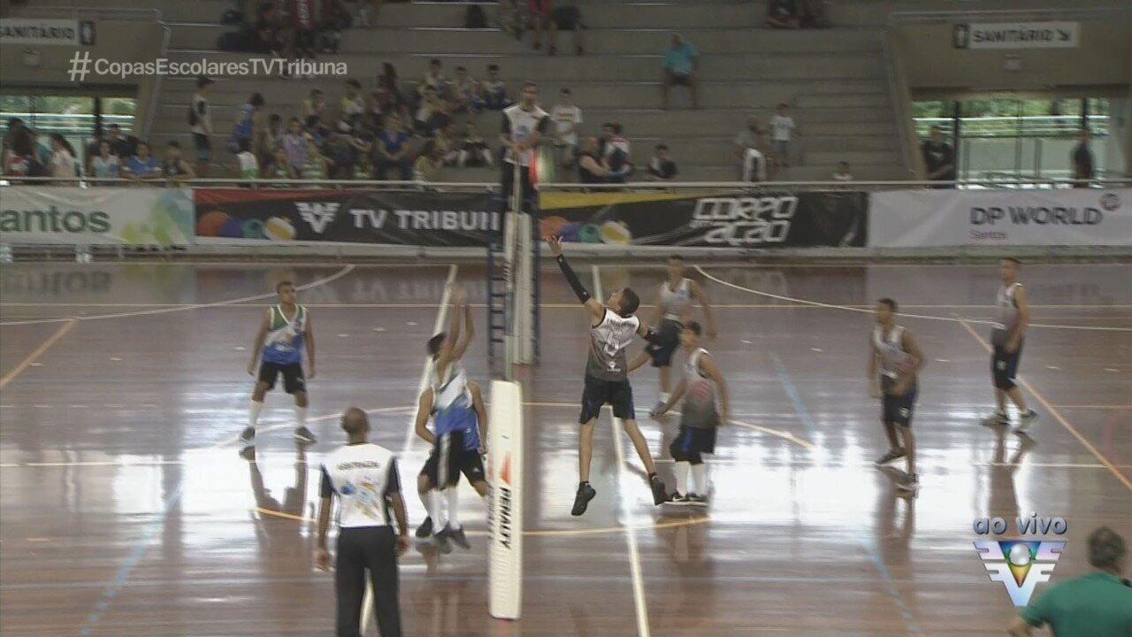 Sesc recebe abertura e primeiros jogos da Copa TV Tribuna de Vôlei Escolar