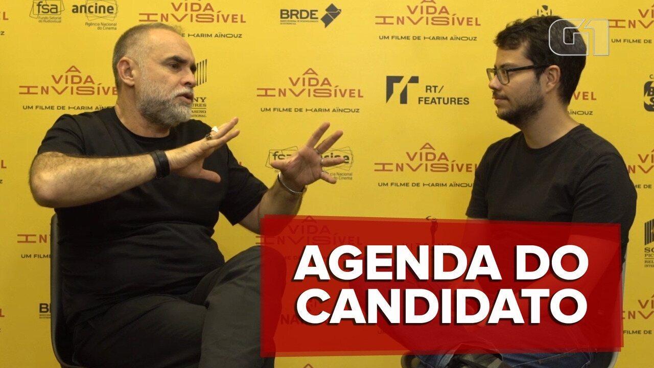 Karim Ainuz fala de campanha para vaga no Oscar