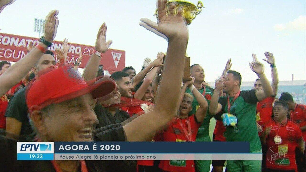 Pouso Alegre FC renova com jogadores e começa a se preparar para 2020