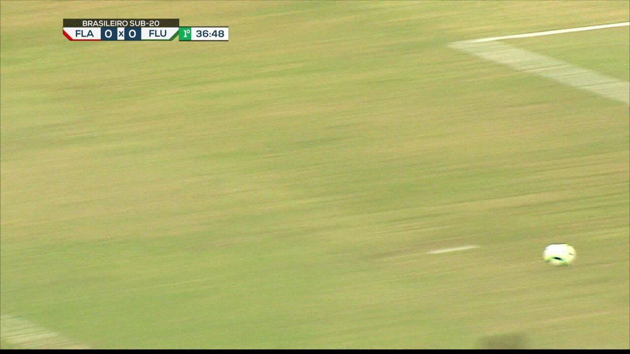 Melhores momentos: Flamengo 2 x 1 Fluminense pelo jogo 2 da quarta de final do Brasileiro sub 20